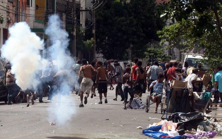 Ação de policiais civis foi executada de surpresa (Fonte: JF/Diário AE)