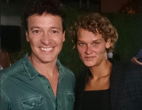 Troféu: o apresentador Rodrigo Faro postou foto ao lado de Loemy no Instagram